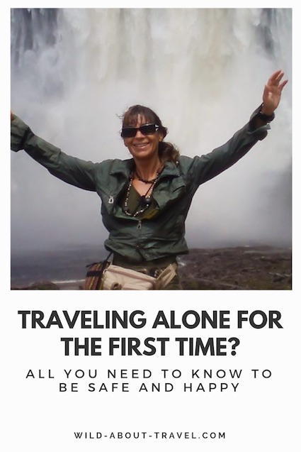 How to travel alone for the first time