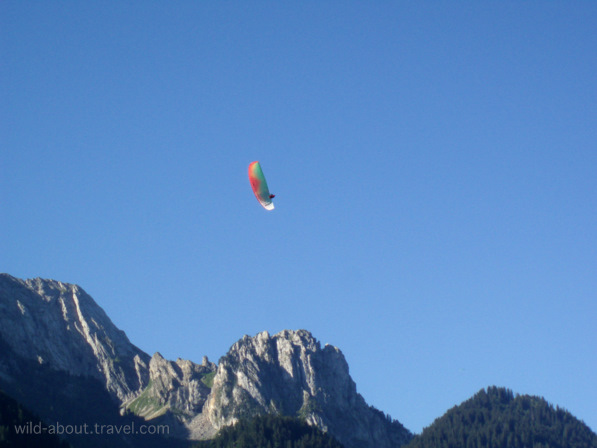 Paragliding in Rougemont