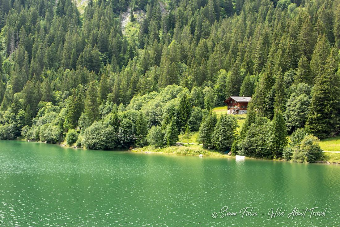The colors of Lake Arnen, Switzerland