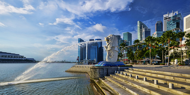 The MERLION, Iconic Landmark of Singapore