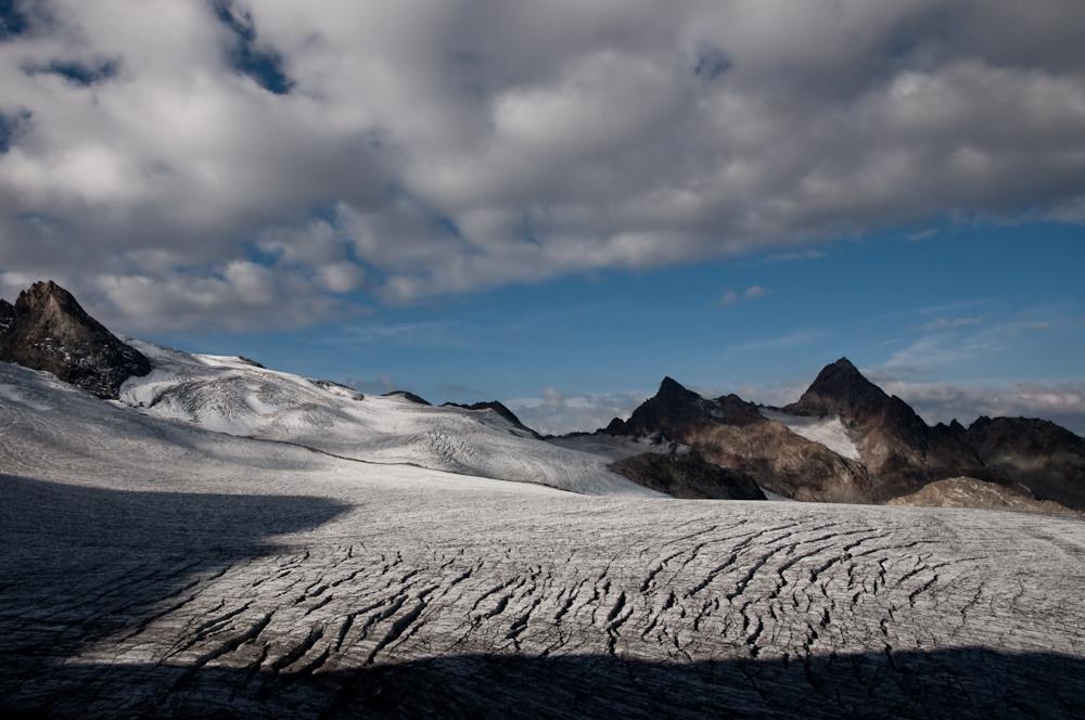 Glacier du Rutor, by Claudio Audisio