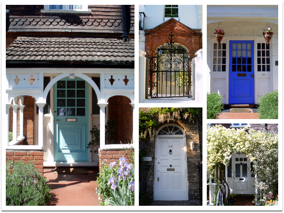 Awesome London Doors | A Photo Essay & London Awesome Doors: A Photo Essay