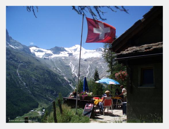Saas-Fee-Alpenblick-Hut