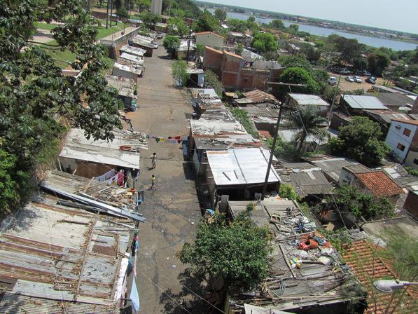 Brazilian Favela Paraguay