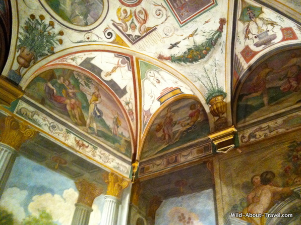 Villa-Corliano-Frescoes