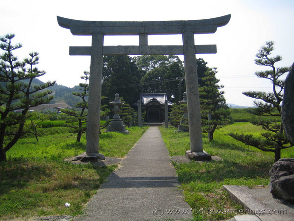 Shinto-Shirne-Shikoku-Japan