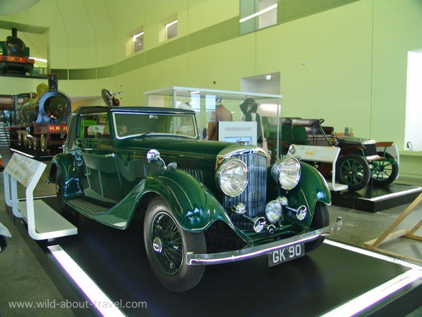 Riverside Museum, A Fascinating Old 1930s Bentley