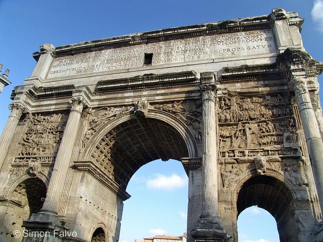 Rome, Arch of Septimius Severus
