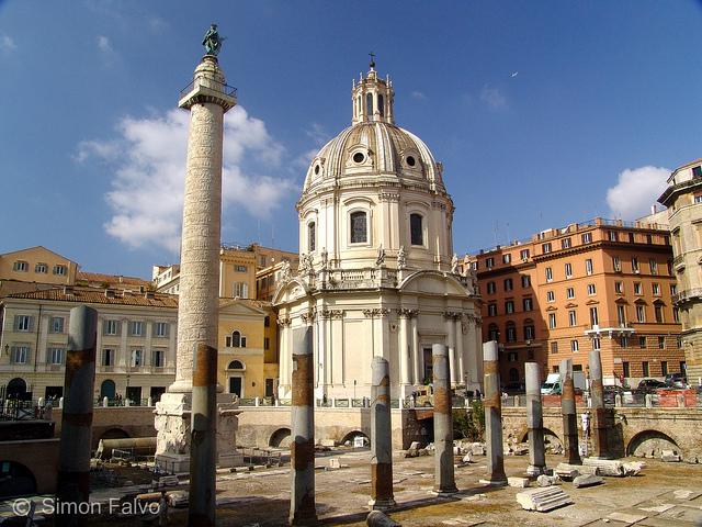 Rome, Trajan's Column