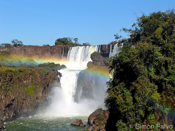 Bazil, Iguazu Falls