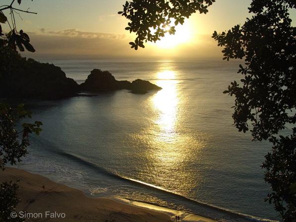 Sunset Fernando de Noronha