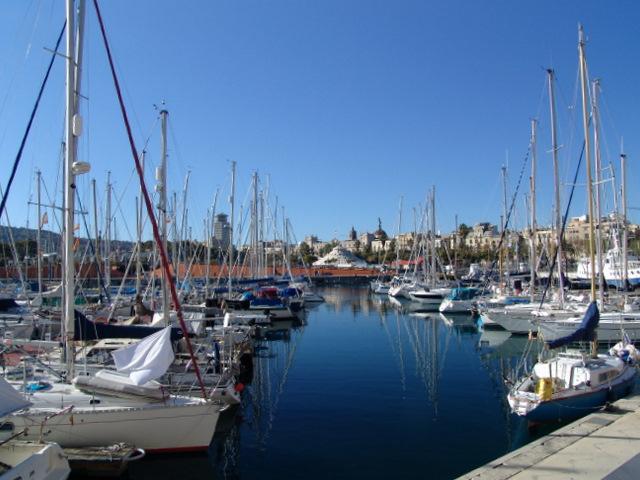 Spain, Barcelona, port vell