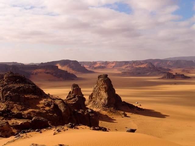 Algeria Akakus Desert