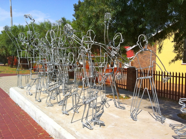 Monument to Soweto Students Uprisings