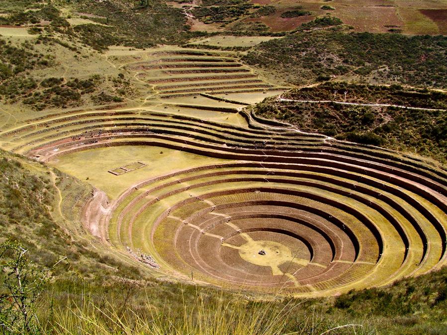 Peru, Moray Terraces