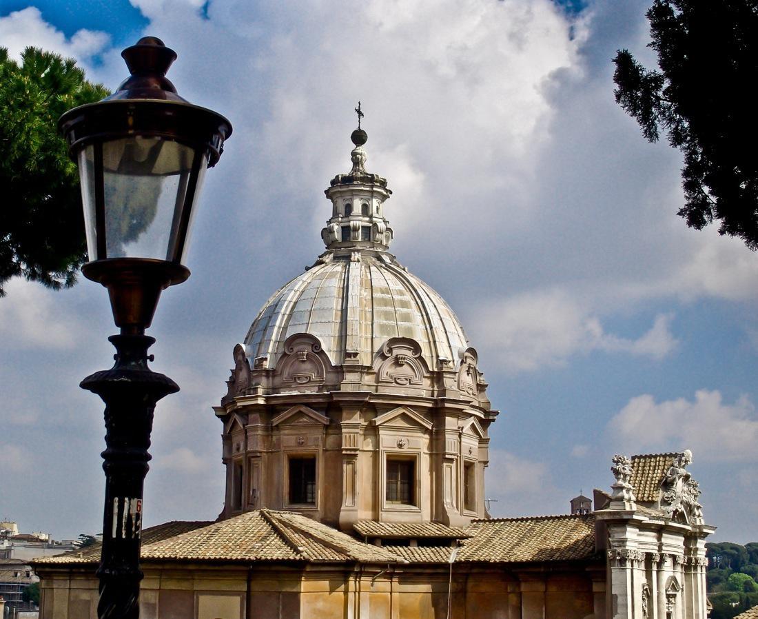 Rome, Church Dome