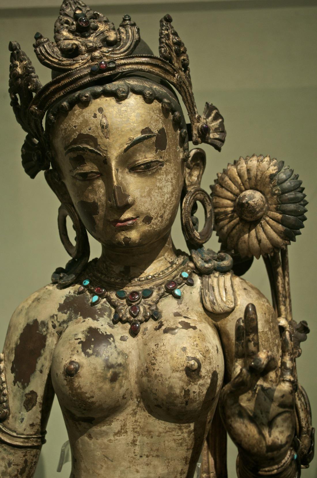 The Buddhist Goddess Sitatara, Victoria and Albert Museum, London, by Peter Rivera