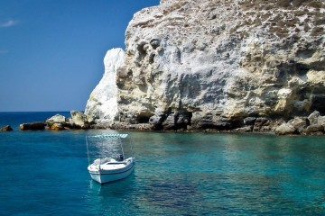 Italy, Aeolian Islands Turquoise Water