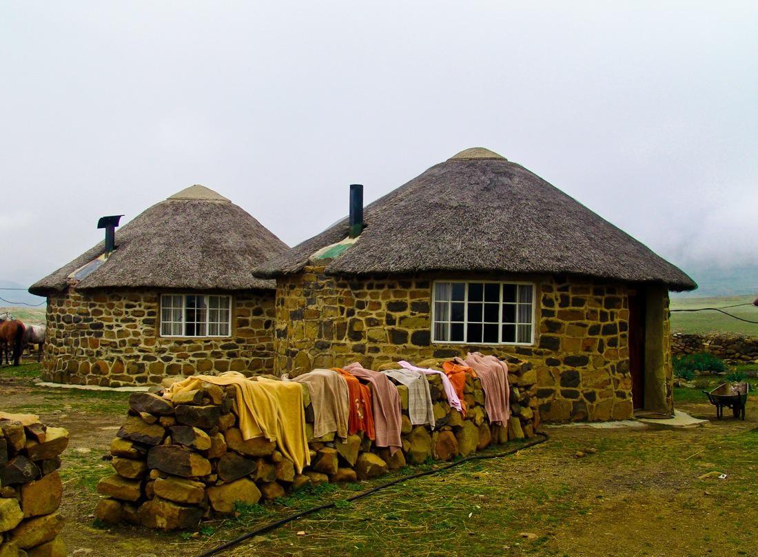 Lesotho Huts