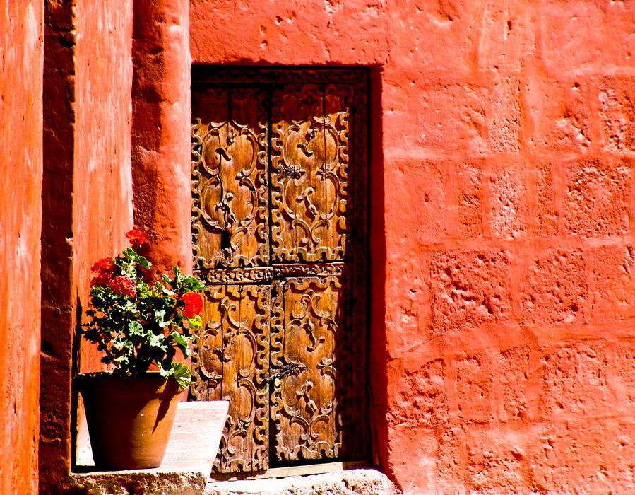 Old-Convent-Door-Peru