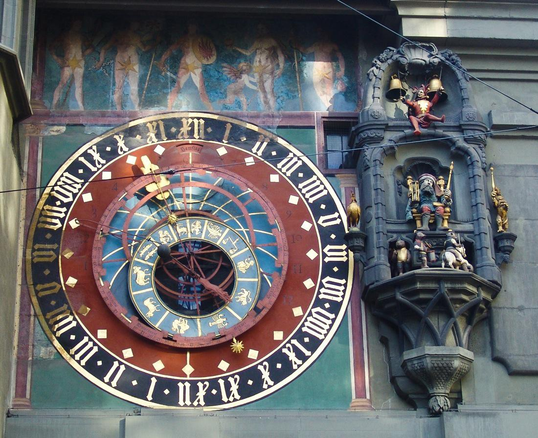 Switzerland Bern Zytglogge Astronomical Clock