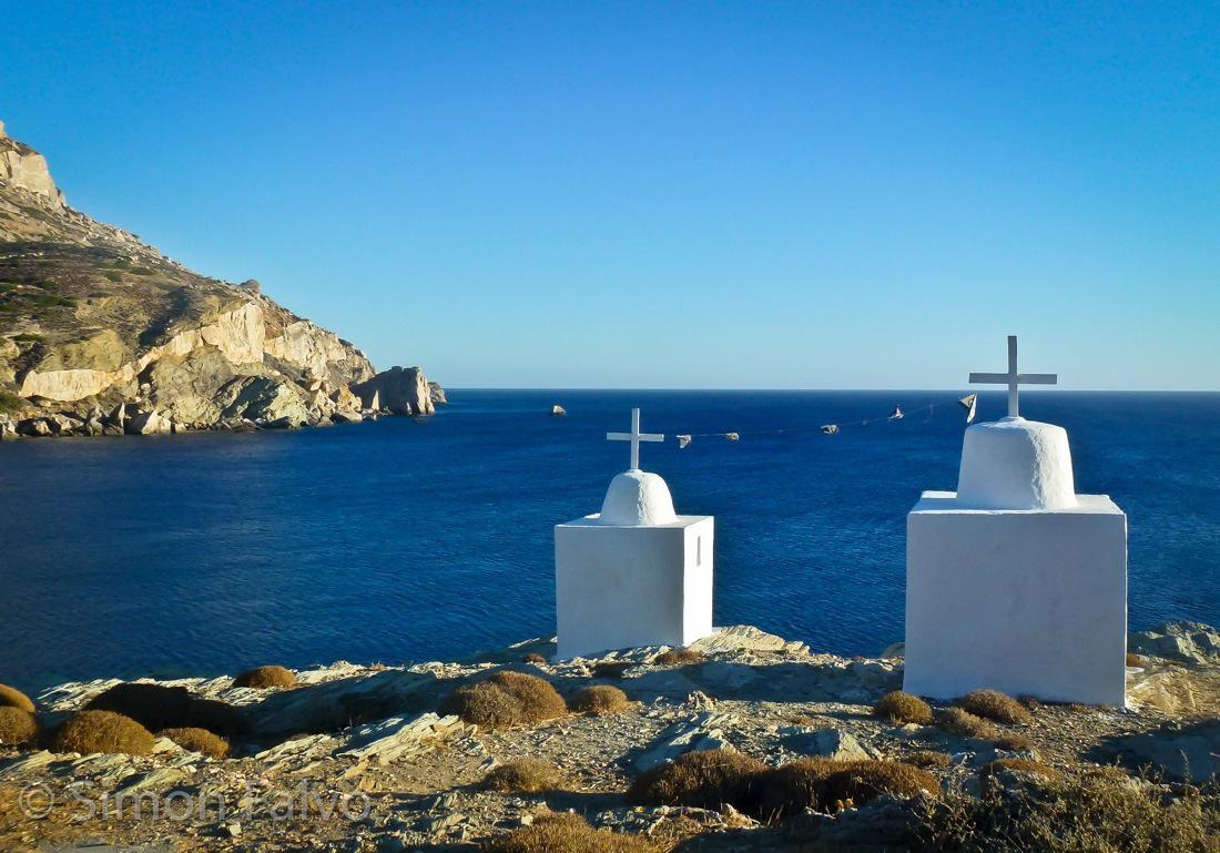 Greece, Folegandros Marine Cemetery