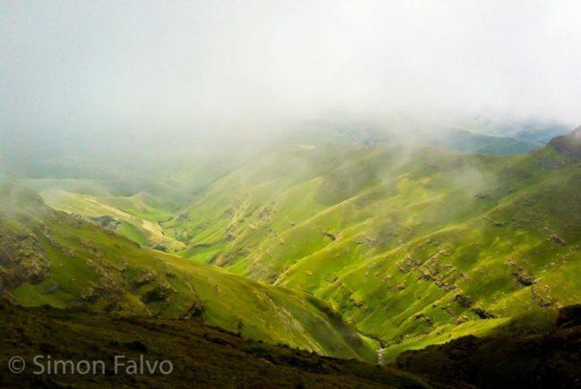 South Africa, Drakensberg View