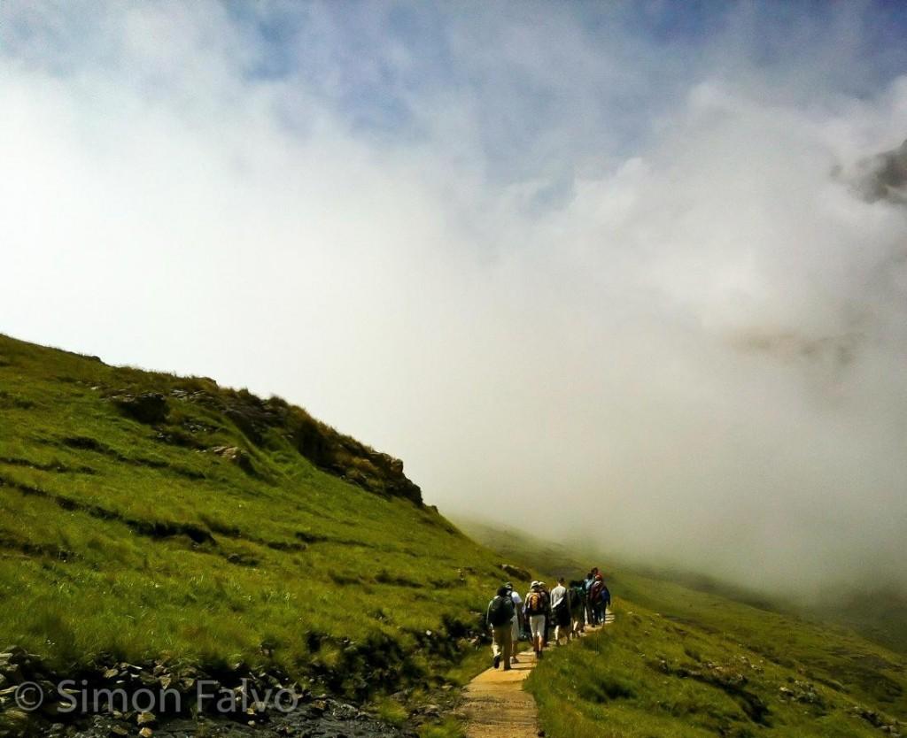 South Africa, Hiking Tugela Falls