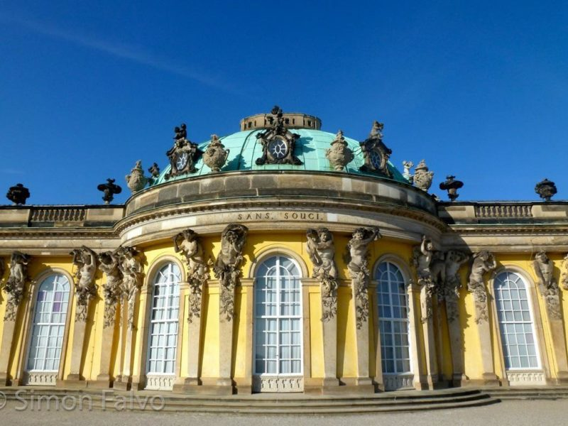 Germany, Potsdam Sanssouci Palace