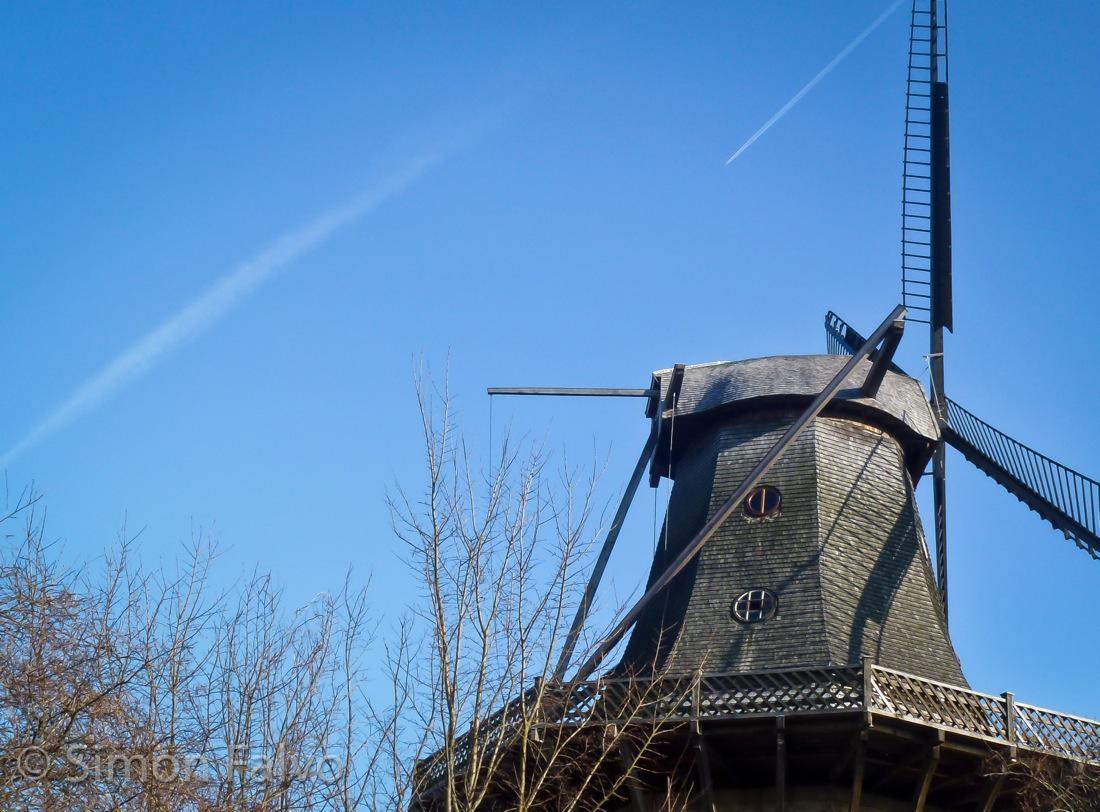 Germany, Potsdam Windmill