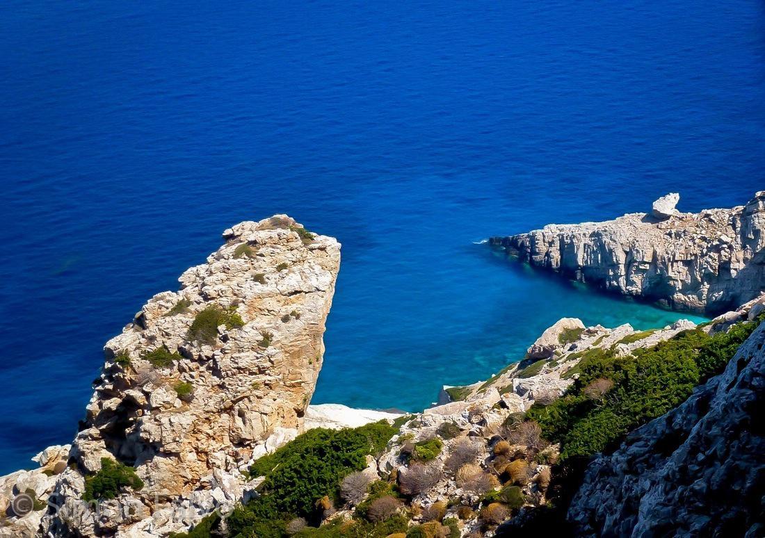 Greece, Folegandros Blue Water