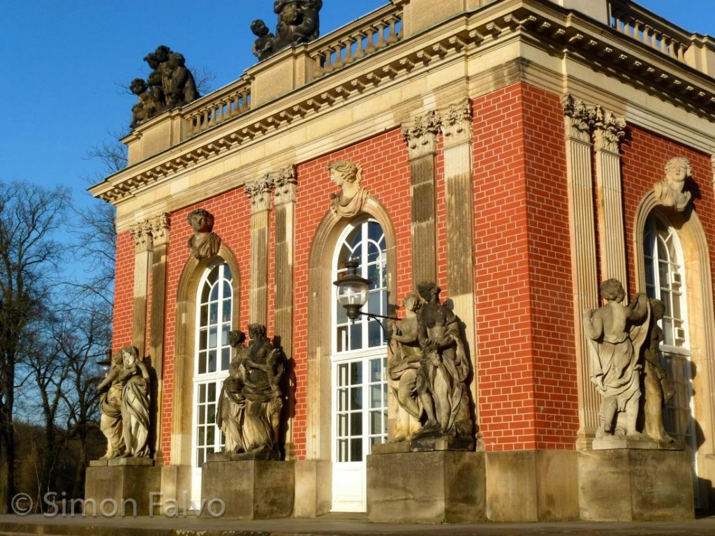 Potsdam New Palace, Lateral Wing