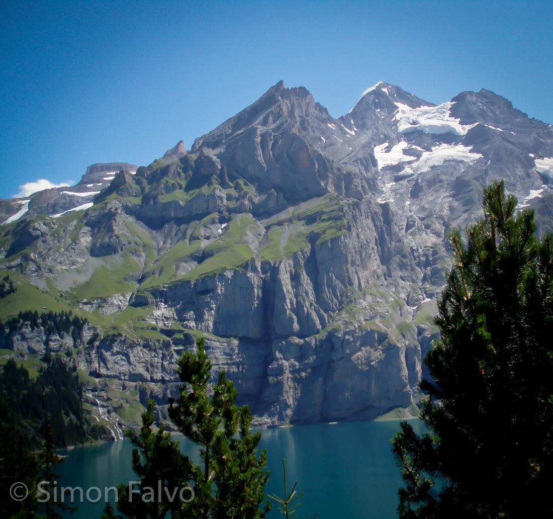 Switzerland, Lake Oeschinen
