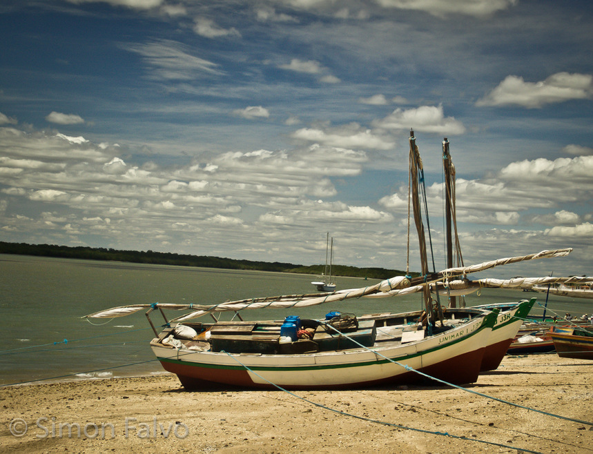 Brazil, Fishing Boats