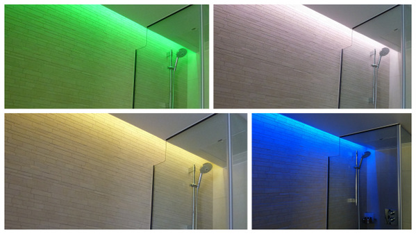 Color Sensorial Bathroom