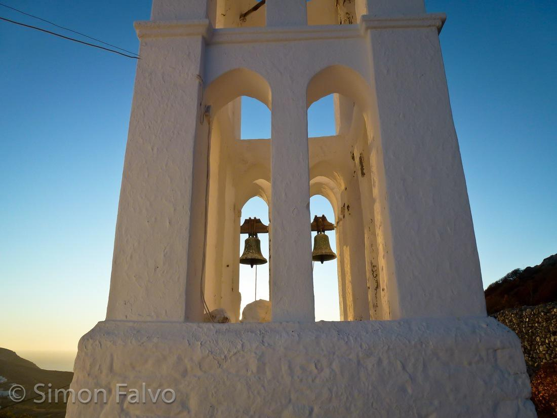 Greece, Folegandros Tower Bell