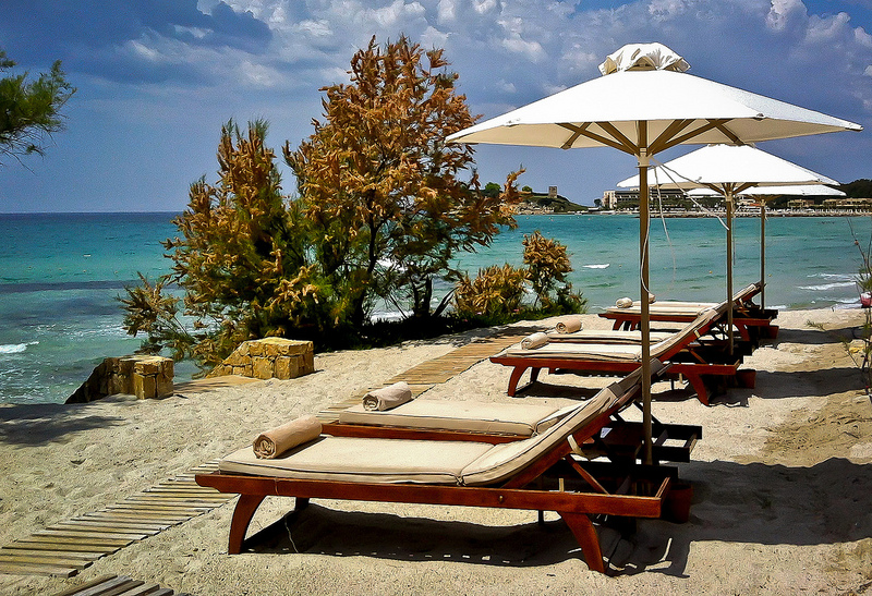 Greece, Relax at Sani Resort