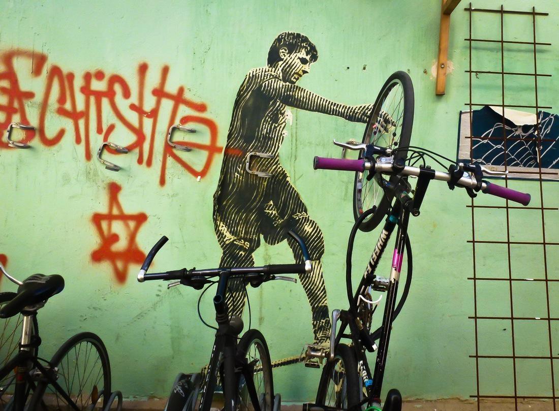 Potsdam Unsettling Graffiti
