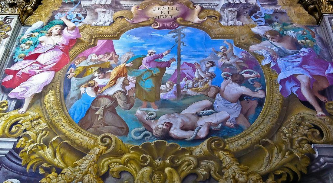Tuscany, Calci Charterhouse, Frescoes