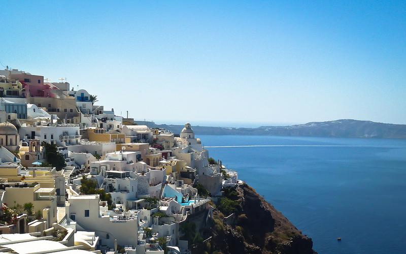 Santorini-Rooftops