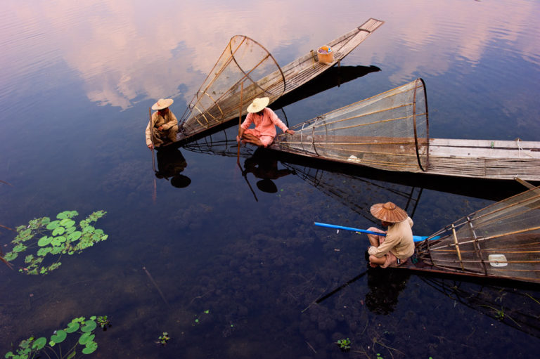 Inle Lake, by Hai Thinh