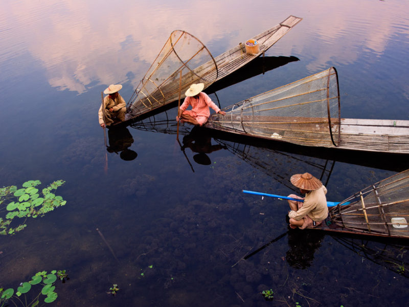 Inle Lake, by Hai Thinh
