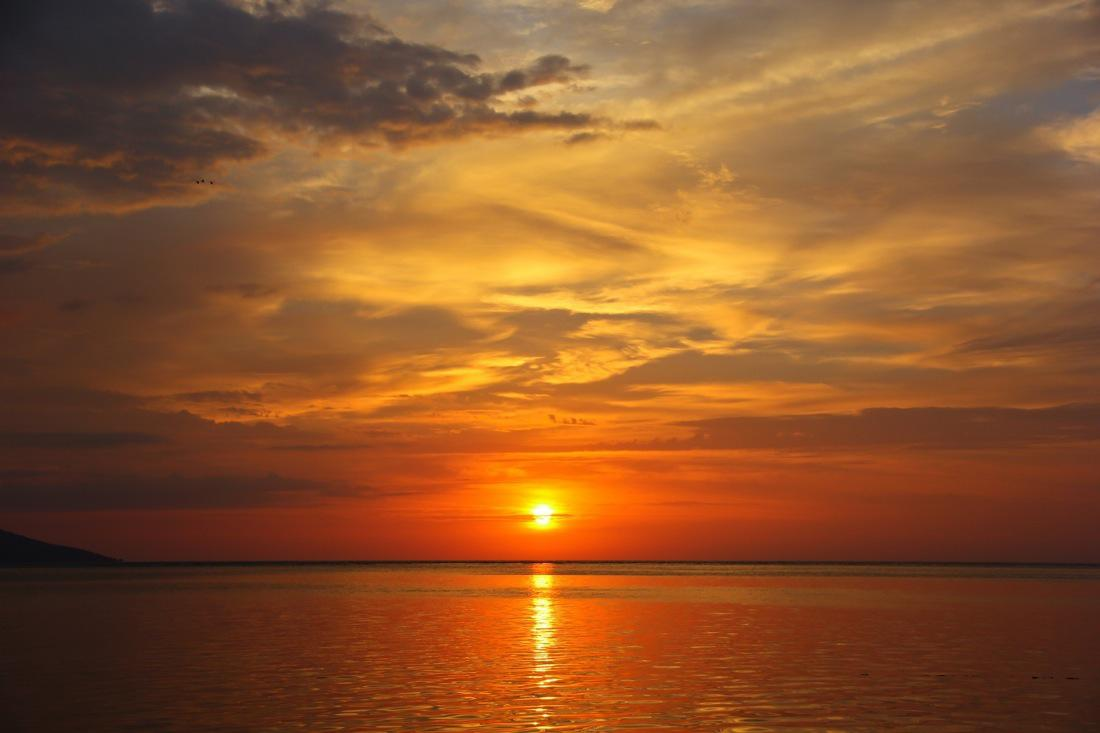 Indonesia, Siladen Sunset