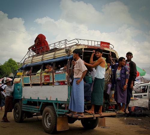 Burma Local Bus