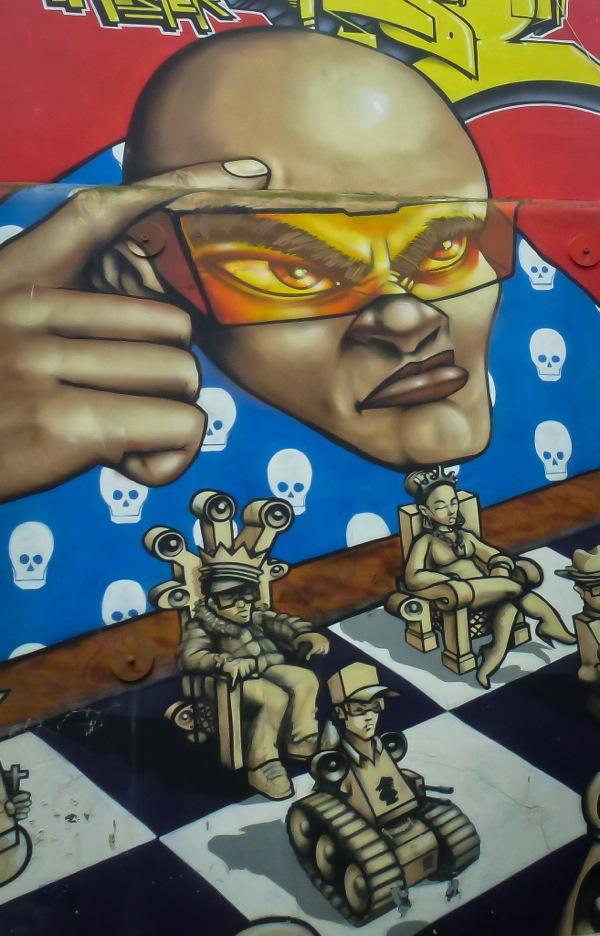 Brighton, Odisy and Aroe, The Run DMC Mural