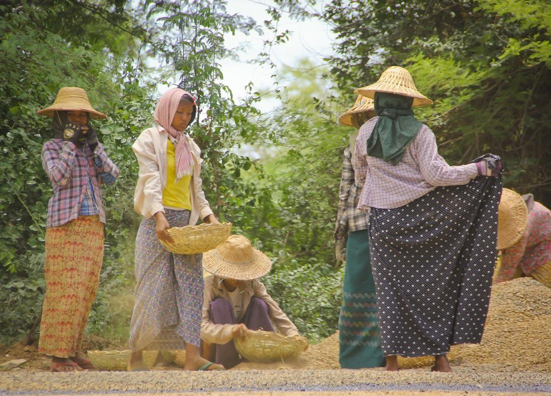 Burma, Hard-Working Women