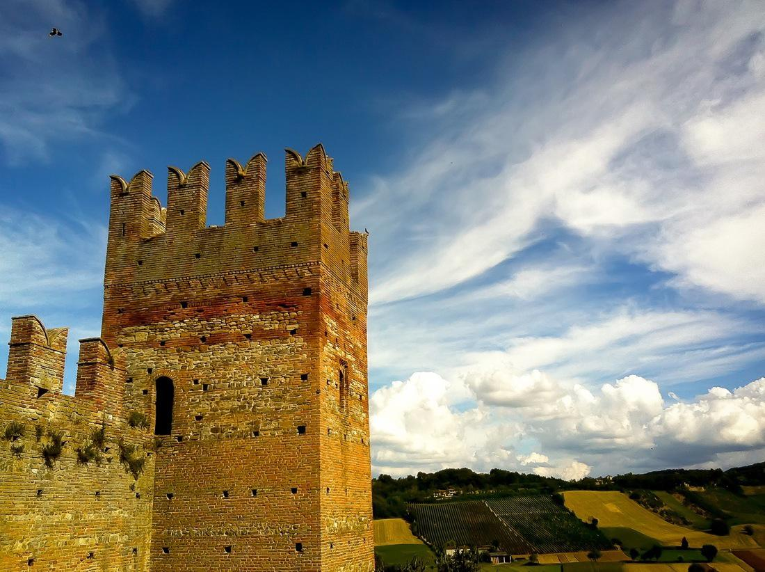 Italy, Castell'Arquato Visconti Castle