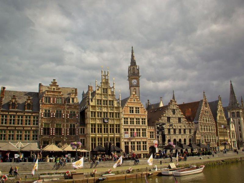 Flanders, Ghent Old Houses