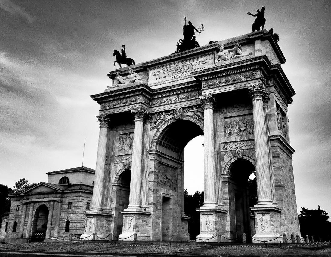 Milan, Arco della Pace