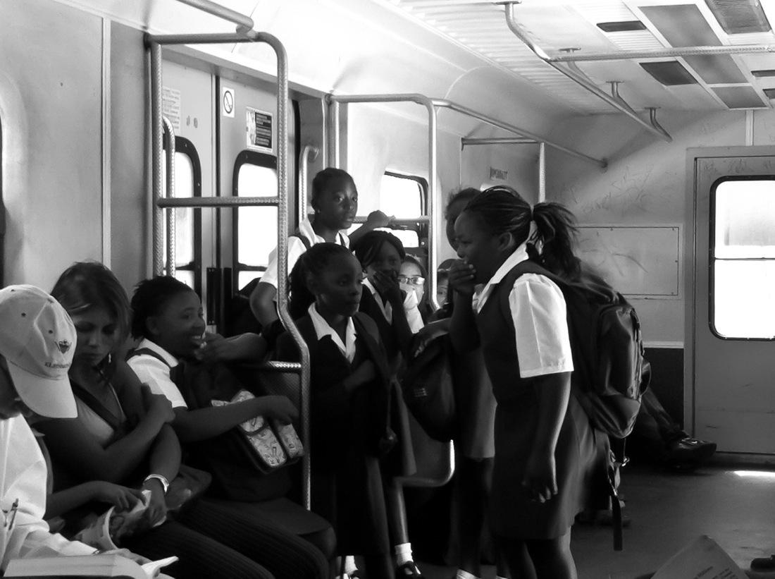 South Africa, Kids on the Train